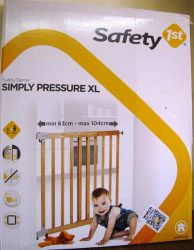 Safety 1st Simply Pressure XL Tür und Treppengitter