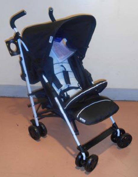 Hauck Buggy Kinderwagen  Speed plus S night