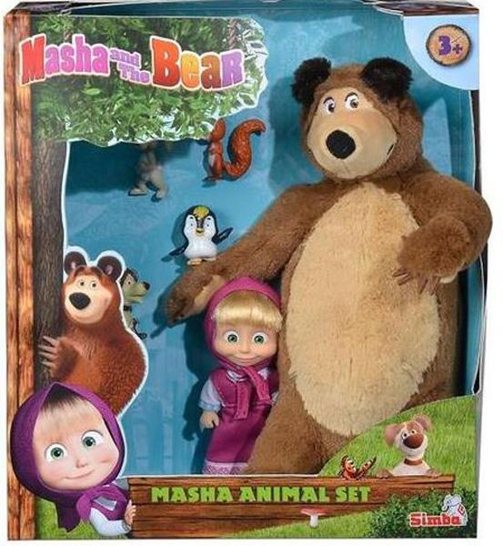 Masha and the Bear Mascha und der Bär von Simba