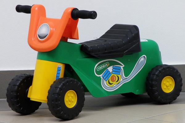 Aufsitzspielzeug Laufrad Motorrad Babyrutscher von Metalcar