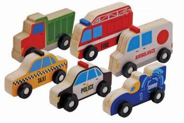 CEBA Holzspielzeug Autos
