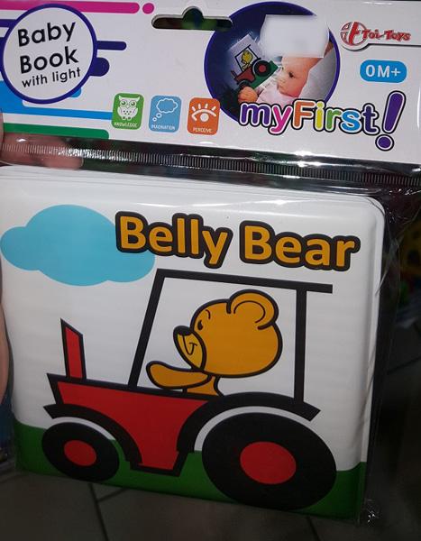 Badebuch Bade buch für Baby mit Licht von Toi-Toys