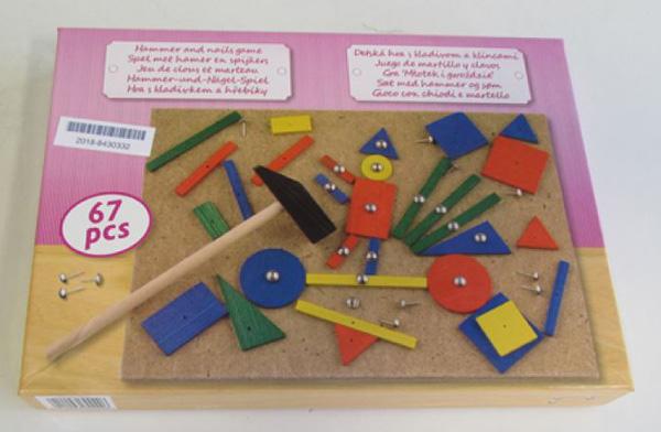 Holzspielzeug Hammer und Nagel Set von Tollkühn Shoppartner