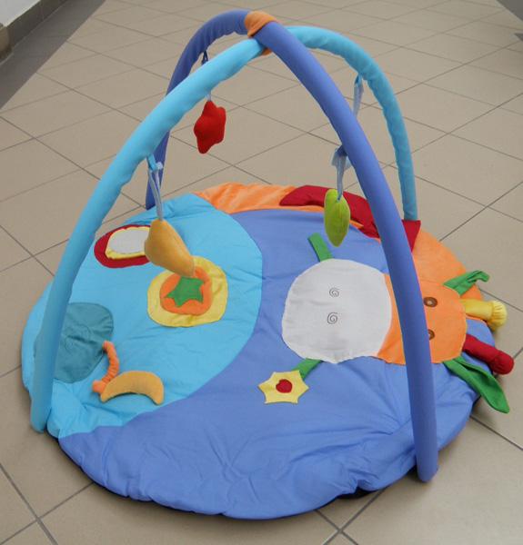 Filikid Spielmatte für Babys Krabelldecke Activitydecke